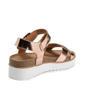 d1e4e5a5c80 Not Rated Shoes - Oetter Rose Gold Sandal